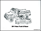 thumbnail_2011 Hess Truck & Racer coloring page final